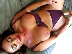 Gorgeous woman with ripe body solo