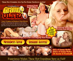 Granny Ultra - Source of Hot Grandma Sex Movies and Gilf Photos